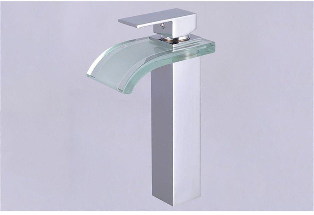 Hlluya Wasserhahn für Waschbecken Küche Das Glas Glas Glas Kai-Typ Wasserhähne fcb690