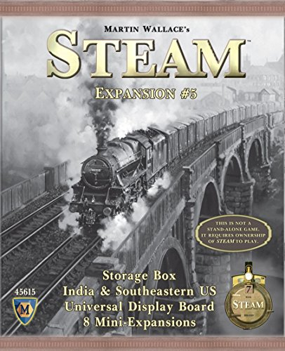 Mayfair Games Steam Map Expansion #5 Boxcar (Best Cheap Steam Games)