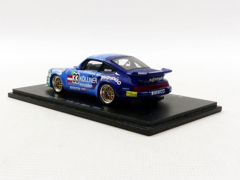 Spark - Maqueta de Porsche 911/964 Turbo - Le Mans 1994 - Escala 1/43, s4442, Azul/Verde: Amazon.es: Juguetes y juegos