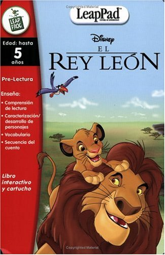 - LeapFrog LeapPad Educational Book: El Rey Leon (The Lion King)  Spanish Software