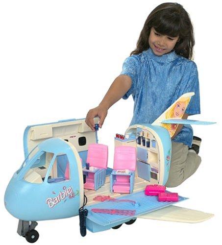 Mattel Barbie Airplane Buy Online In Uae Toys And
