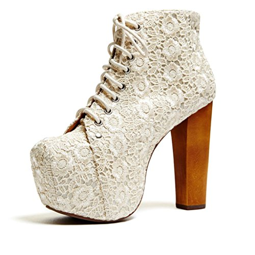 jeffrey campbell cold feet by jeffrey campbell 39 lita lace 39 ivory 10 price. Black Bedroom Furniture Sets. Home Design Ideas