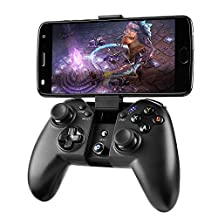 Game Controller, MAD GIGA Wireless Game Controller Bluetooth Gamepad Remote for PC (Windows XP/7/8/8.1/10), PS3, Android, Vista, Smartphone, TV Box Portable Gaming Handle