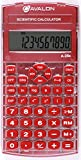Avalon A-25x Scientific Calculator, Red (Comparable to Texas Instruments Scientific Calculators)