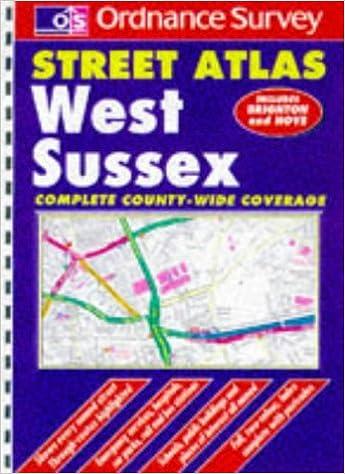 Ordnance Survey West Sussex Street Atlas (OS / Philip's