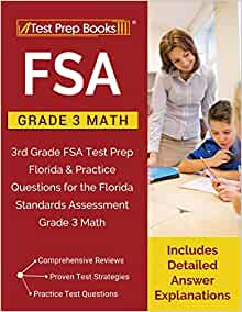 FSA Practice Grade 3 Math: 3rd Grade FSA Test Prep Florida ...