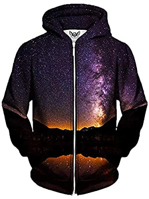 Gratefully Dyed Starlit Valley Unisex Zip Up Hoodie