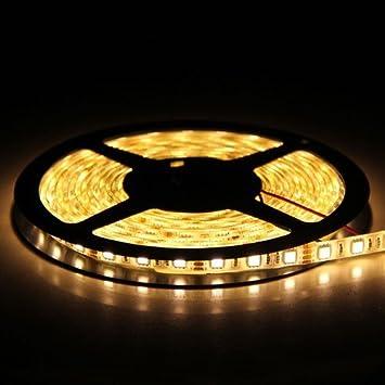 Amazon flexible led strip lights warm white 300 units smd flexible led strip lightswarm white300 units smd 5050 ledswaterproof aloadofball Images