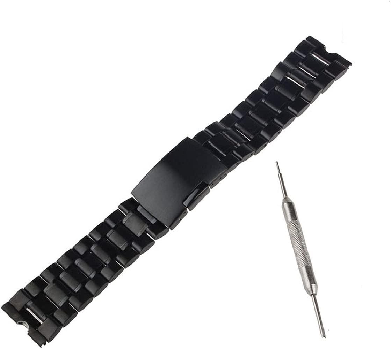 Malloom® 22mm Acero Inoxidable Venda Reloj Pulsera Correa de Repuesto para Motorola Moto 360 reloj Inteligente y Herramientas