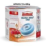 Unibond Aero 360º Aromatherapy Fruit Sensation Refill Tabs (12 x 450 g, Fruit Sensation)