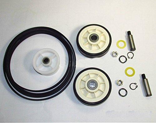 - Maytag Dryer Roller Belt Pulley Repair Kit (33002535, 12001541, 6-3700340)