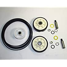Maytag Dryer Roller Belt Pulley Repair Kit (Y312959, Y303373 , 6-3700340)