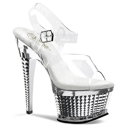 Pleaser Illusion-658 - Sexy Plateau High Heels Sandaletten 35-43