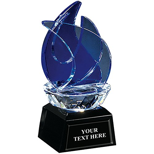 Ice Torch Jewel Crystal - Blue Achievement Crystal Awards]()