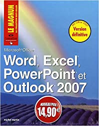 Word, Excel, PowerPoint, Outlook 2007 Nouveaux Prix