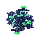 3 4 garden hose bulkhead fitting - Plastic Ball Valve 5mm. Taps Main Water Supply Irrigation Plastic Pipe Tube Connector Hose PE Spray Nozzle Mini Sprinkler Garden Hydroponic Agriculture (Packing: 20 Pcs./Pack)