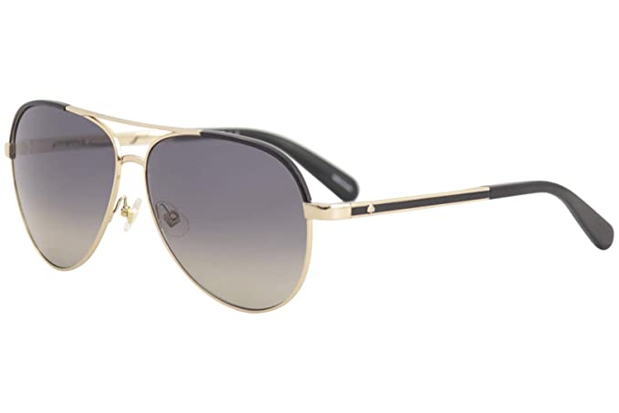 4a40a4520f Image Unavailable. Image not available for. Colour  Kate Spade Women s  Amarissa s Polarized Aviator ...