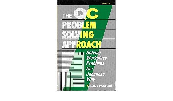 the qc problem solving approach by katsuya hosotani