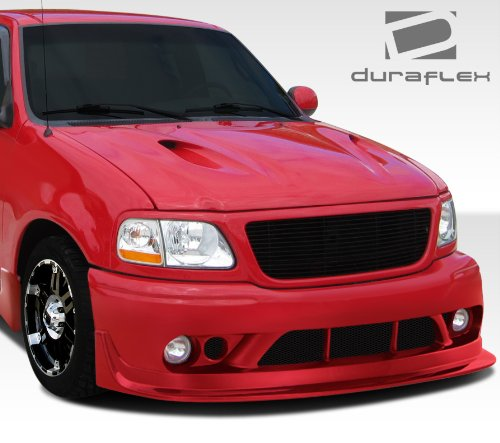 Duraflex ED-ULK-858 Cobra R Front Bumper Cover - 1 Piece Body Kit - Compatible For Ford F150 1997-2003