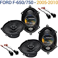 Ford F-650/750 2005-2010 Factory Speaker Upgrade Harmony (2) R68 Package New