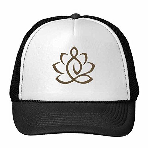 DIYthinker Gorra de béisbol Budismo Religión Budista Lotus Figura ...