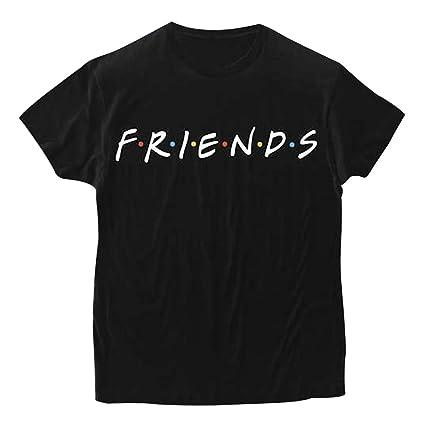 Sudadera Mejores Amigos Hombre y Mujer Camiseta Friends Serie TV Show Logo Camisas Manga Corta Adolescentes Chicas Blusa Lertras Boyfriend Swag Pullover Hip ...