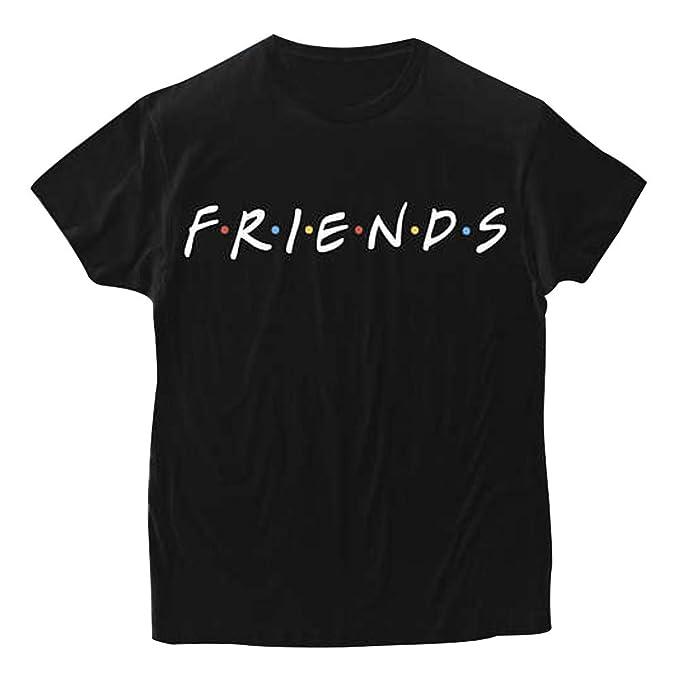 Friends Tshirt Serie TV Show Camiseta Mejor Amiga Shirt Best Friend Sudaderas Verano Mujer Hombre Básico