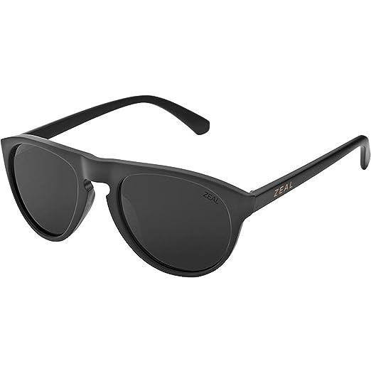 703b4fdf27c Amazon.com  Zeal Optics Memphis Polarized Sunglasses - Matte Black Frame