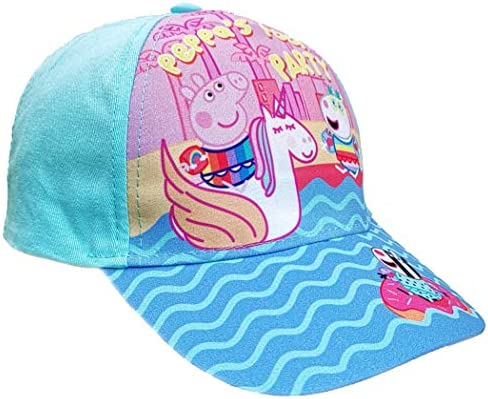 Official Peppa Pig  Summer Hat Baseball Cap Boys Girls Unisex Adjustable