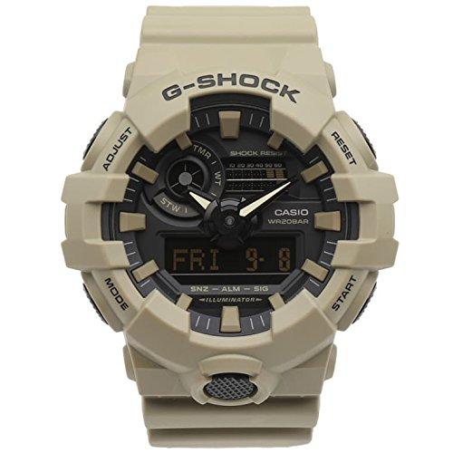 Casio G-SHOCK Homme Analogique-Digital Quartz Montre avec Bracelet en Plastique 4