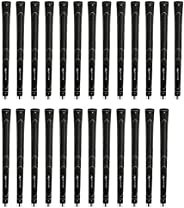 Karma Super Light Oversize (+3/32 Inch) Black 25 Piece Golf Grip Bundle