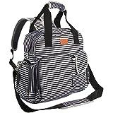 Diaper Bag Backpack for Baby Care, Multi Function Waterproof...
