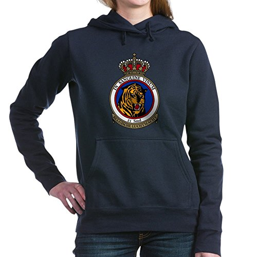 CafePress 31_Sqn_Tiger_NTM.PNG - Pullover Hoodie, Classic & Comfortable Hooded (2008 Patch Block)