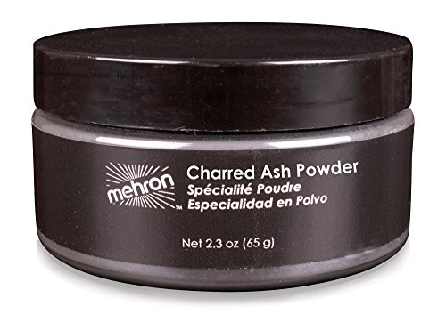 Use Loose Powder (Mehron Powder Charred Ash 2.3oz)