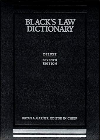 Blacks Law Dictionary Fifth Pocket Edition