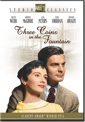 DVD : Three Coins in the Fountain (Dubbed, , Widescreen, Sensormatic)