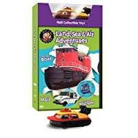 Real Wheels: Land Air And Sea Adventures (With Collectible Toy) (Bilingual) [Import]