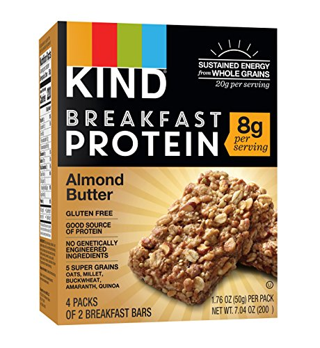 Top 10 best kind breakfast protein bars almond butter 2019