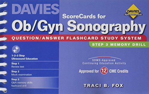ScoreCards for Ob/Gyn Sonography