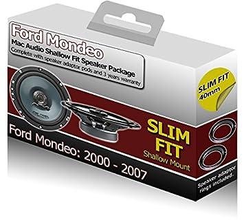 Ford Mondeo altavoces de puerta delantera para VM Kit de altavoces coche + adaptador Pods: Amazon.es: Coche y moto