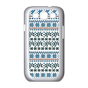 Stevebrown5v Christmas Fair Isle Case for Samsung Galaxy S3, with White