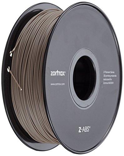 Zortrax 5904730747103 Z-ABS Filament pour Imprimante 3D, Gris Clair