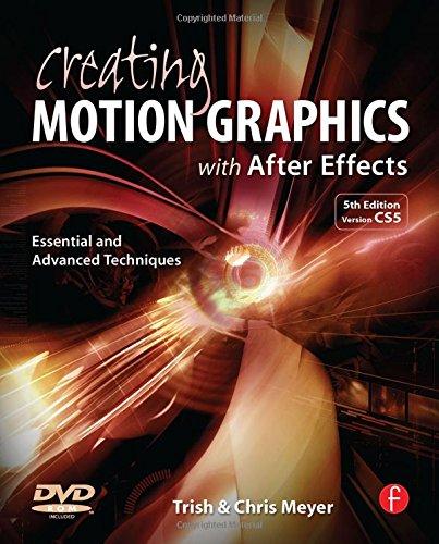 Creating Motion Graphics... W/Dvd