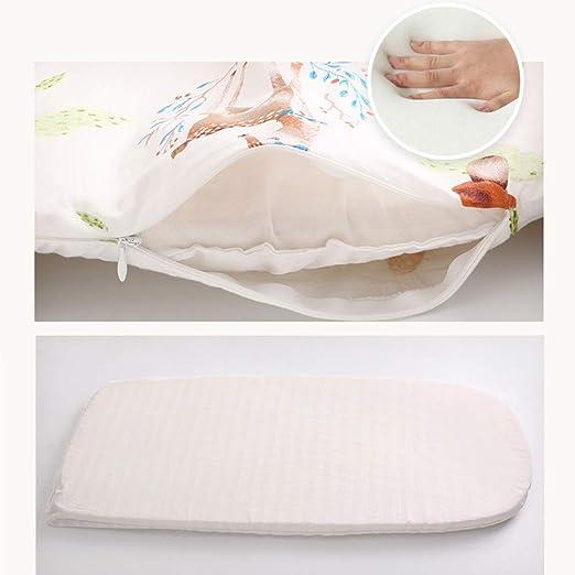 Perfekt zum gemeinsamen Schlafen und Reisen Atmungsaktives Kuschelnest Kinderbett Rosa Tragbares Babynest Babyliege 88x53x15cm Babynestchen aus 100/% Baumwolle