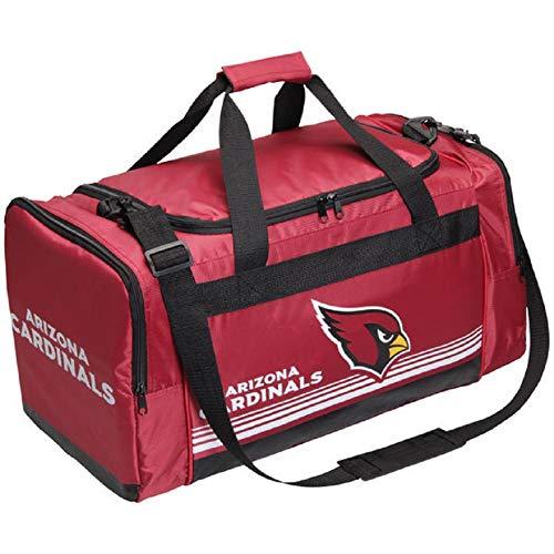 Arizona Cardinals Medium Striped Core Duffle Bag