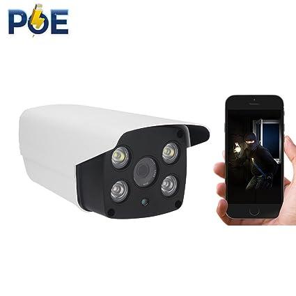 PoE IP Cámara 1080P IP Vigilancia Dual luz Cámara de Seguridad Cámara Exterior Resistente al Agua
