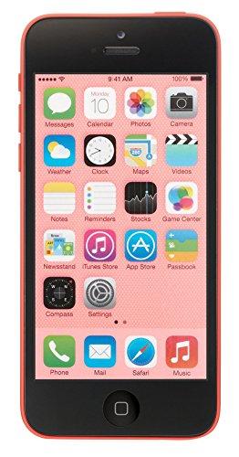 Apple iPhone 5C, GSM Unlocked, 16GB - Pink (Renewed) (Apple Iphone 5c Unlocked Pink)