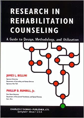 Amazon Research In Rehabilitation Counseling A Guide To Design