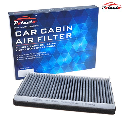 POTAUTO MAP 3002C Heavy Activated Carbon Car Cabin Air Filter Replacement compatible with compatible with, Escape, MAZDA, Tribute, MERCURY, Mariner
