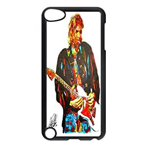 Ipod Touch 5 Case Kurt Cobain Nirvana Posters, Nirvana Tyquin, {Black}